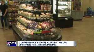 News video: New trend in convenience stores aims to keep you there longer