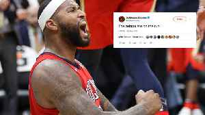 DeMarcus Cousins ACCUSES NBA Referees Of CHEATING To Help Warriors Win Game 7! [Video]