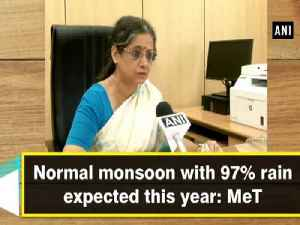 Normal monsoon with 97% rain expected this year: MeT [Video]