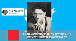 Rishi Remembers Grandfather On His 47th Death Anniversary