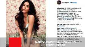 News video: Janhvi Dazzles On Vogue's Cover Ppage