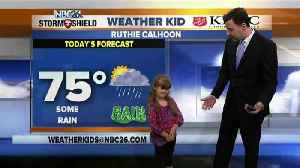 News video: Meet Ruthie Calhoon, our NBC26 Weather Kid of the Week!
