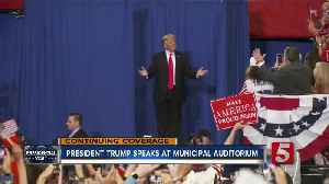 Trump Draws Thousands To Nashville For Rally