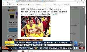 Former Maryland basketball player killed in Texas van accident [Video]