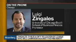 News video: Italian Euro Exit 'Incompatible' With Financial System, Zingales Says