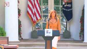 News video: New Tweet From Melania Slams Media For Questioning Her Whereabouts