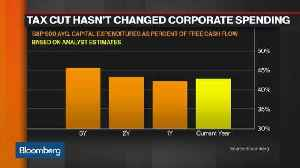 News video: Where Corporate Tax Cut Savings Are Being Spent