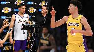 Liangelo Ball REVEALS Advice Lonzo Ball Gave Him Before Lakers Workout! [Video]