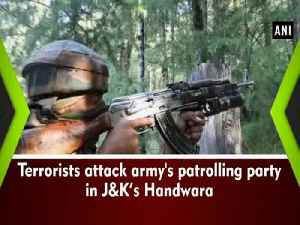 News video: Terrorists attack army's patrolling party in J&K's Handwara