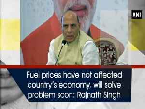 Fuel prices have not affected country's economy, will solve problem soon: Rajnath Singh [Video]