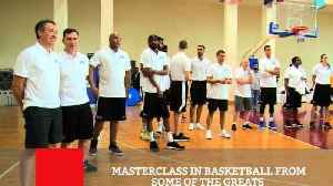 Masterclass In Basketball From Some Of The Greats [Video]