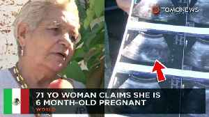 News video: Pregnant 71-year-old woman soon become the world's oldest mom