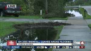 Excess rainfall leaving parts of Punta Gorda flooded - 6:30am live report [Video]