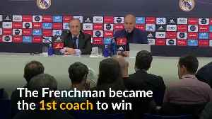 News video: Zidane makes shock decision to leave Real Madrid as coach