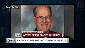 News video: Longtime priest suspended over child sex abuse allegation