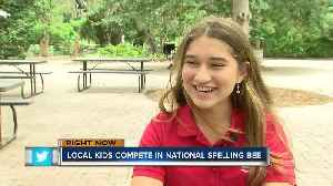Karina Montoya is one of six local students competing in the Scripps National Spelling Bee
