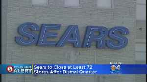 Sears Announces Plan To Close Dozens Of Stores In Coming Months [Video]