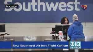 News video: Southwest Adds More Nonstop Flights In Sacramento