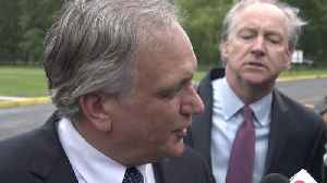 News video: Web Extra: Ed Mangano Reacts To Mistrial