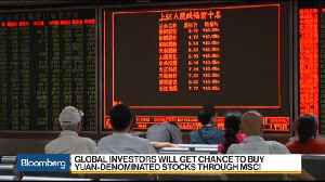 News video: Chinese Stocks to Debut on MSCI