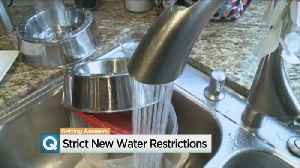 News video: New California Law Limits How Much Water People Can Use