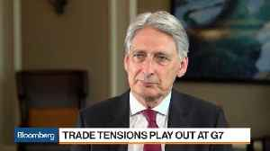 U.K.'s Hammond Says BOE Can Normalize Interest Rates 'Over Time' [Video]