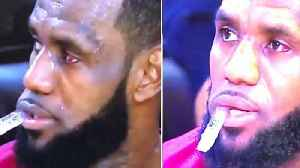 Draymond Green POKES Lebron James In The EYE Then Cusses Him Out! | NBA Finals 2018 [Video]