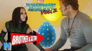Guardians Of the Galaxy 2: Easter Eggs! Star Lord & Mantis Siblings?! | NW News
