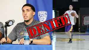 News video: LiAngelo Ball DENIED By The NBA! Future In NBA Uncertain!