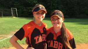 Tabb High softball players Madelyn Morinec and Kristen Malloy [Video]