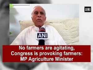 News video: No farmers are agitating, Congress is provoking farmers: MP Agriculture Minister