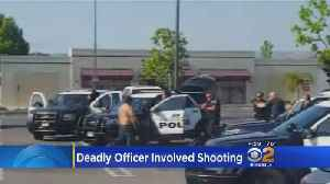 News video: Torrance Police Fatally Shoot Suspect Carrying Knife
