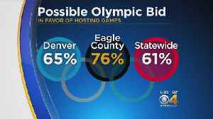 Colorado Plans To Pursue Olympics Subject To Voter Approval