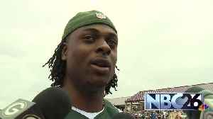 Davante Adams gives update on Clay Matthews [Video]