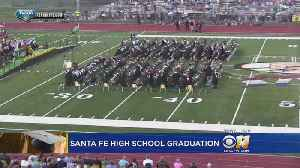 News video: Students Graduate From Texas School Where Shooting Killed 10