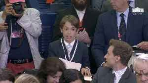 News video: A Young Reporter Stuns The White House With Emotional Question