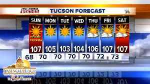 News video: FORECAST: Hot and dry for the 1st week of June