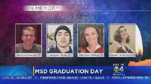 News video: Four Seniors Killed In Shooting Will Be Honored At Stoneman Douglas Graduation