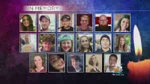 News video: Four Seniors Killed In Shooting Honored At Stoneman Douglas Graduation