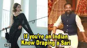 Kangana SUPPORTS designer Sabyasachi: Indian women should know how to drape Saree [Video]