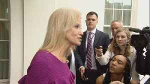 Conway deflects questions on Trump pardon tweet [Video]