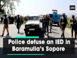 Police defuse an IED in Baramulla's Sopore [Video]