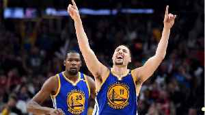 News video: Klay Thompson Had Good Time In Hamptons Before Signing Durant