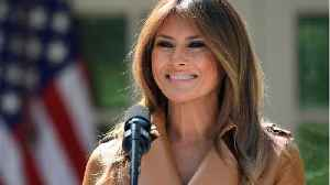 News video: Melania Trump To Finally Make Public Appearance Since Surgery