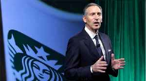 News video: Starbucks Chair Leaving Company To Potentially Pursue Public Service
