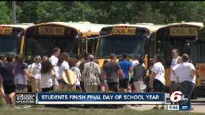 One week after school shooting, students at Noblesville West Middle School finish last day of school year