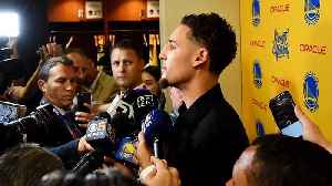 News video: Klay Thompson Available to Play for Game 2; Andre Iguodala Remains Out
