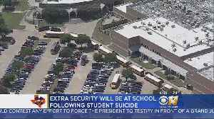 News video: McKinney Students Return To Classes Days After Campus Suicide
