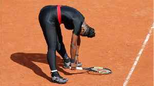News video: Serena Pulls Out Of French Open Before Sharapova Showdown