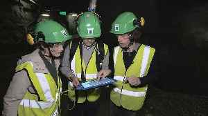 News video: Nuclear inspection: 3D scanner for easier checks at underground site